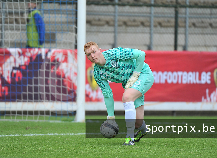 Belgium U19 - England U19 : Cameron Dawson.foto DAVID CATRY / Nikonpro.be