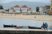Tabarka, Tunisia, 18 Settembre 2018<br /> La spiaggia di Tabarka