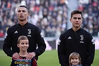 Cristiano Ronaldo of Juventus , Paulo Dybala of Juventus <br /> Torino 6-1-2020 Juventus Stadium <br /> Football Serie A 2019/2020 <br /> Juventus FC - Cagliari Calcio <br /> Photo Federico Tardito / Insidefoto