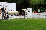Tim Sluiter (NED) tees off on the par3 17th hole during of Day 3 of the BMW International Open at Golf Club Munchen Eichenried, Germany, 25th June 2011 (Photo Eoin Clarke/www.golffile.ie)
