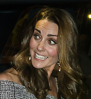 Catherine, Duchess of Cambridge opens a new centre at Victoria and Albert Museum developing its photography collection. Sir Paul McCartney has donated dozens of photographs taken by his late wife Linda, including images of The Beatles, Jimi Hendrix and personal portraits of the McCartney family on holiday. <br /> London, England on October 11, 2018.<br /> CAP/JOR<br /> &copy;JOR/Capital Pictures