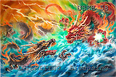 Kayomi, REALISTIC ANIMALS, paintings, dragon, EncounteringDragons_M, USKH58,#A# realistische Tiere, realista, illustrations, pinturas