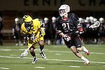 Orange, CA 02/28/09 -  Sean Marshall (Chapman #21) and Jordan Kirshner (Michigan #33)