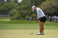Sei Young Kim (KOR) watches her putt on 4 during round 3 of the 2019 US Women's Open, Charleston Country Club, Charleston, South Carolina,  USA. 6/1/2019.<br /> Picture: Golffile | Ken Murray<br /> <br /> All photo usage must carry mandatory copyright credit (© Golffile | Ken Murray)
