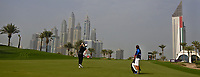 Bernd Wiesberger (AUT) on the 8th fairway during Round 1 of the Omega Dubai Desert Classic, Emirates Golf Club, Dubai,  United Arab Emirates. 24/01/2019<br /> Picture: Golffile | Thos Caffrey<br /> <br /> <br /> All photo usage must carry mandatory copyright credit (&copy; Golffile | Thos Caffrey)