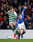 08.11.2019 League Cup Final, Rangers v Celtic: Kris Ajer and Brandon Barker