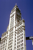 Chicago: Wrigley Building, 1921. Architects--Graham, Anderson. Photo '76.
