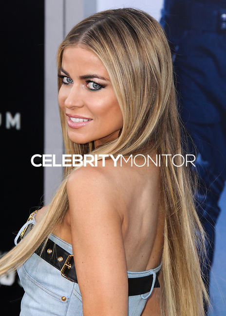 HOLLYWOOD, LOS ANGELES, CA, USA - AUGUST 11: Carmen Electra at the Los Angeles Premiere Of Lionsgate Films' 'The Expendables 3' held at the TCL Chinese Theatre on August 11, 2014 in Hollywood, Los Angeles, California, United States. (Photo by Xavier Collin/Celebrity Monitor)