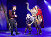 Rosencrantz &amp; Guildenstern Are Dead <br /> by Tom Stoppard <br /> at The Old Vic, London, Great Britain <br /> press photocall <br /> 3rd March 2016 <br /> EMBARGOED UNTIL 12 NOON ON MONDAY 6TH MARCH 2017 <br /> <br /> Daniel Radcliffe as Rosencrantz <br /> <br /> <br /> David Haig as The Player <br /> <br /> and Company <br /> <br /> <br /> Photograph by Elliott Franks <br /> Image licensed to Elliott Franks Photography Services