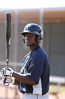 Julio Morban #46 of the Seattle Mariners participates in spring training workouts the Mariners minor league complex on March 12, 2011  in Peoria, Arizona. .Photo by:  Bill Mitchell/Four Seam Images.