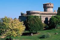 Italien, Toskana, Volterra, Fortezza Medicea