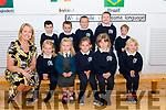 36 Nagle Rice NS Milltown<br /> Junior Infants with their teacher Grainne O'Callaghan<br /> Front L-R Aine, Cara, Madeleine, Karina & Michalina<br /> Back L-R Alexander, Gearóid, Conor, Ben & Liam
