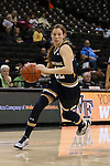 18 February 2016: Notre Dame's Madison Cable. The Wake Forest University Demon Deacons hosted the University of Notre Dame Fighting Irish at Lawrence Joel Veterans Memorial Coliseum in Winston-Salem, North Carolina in a 2015-16 NCAA Division I Women's Basketball game. Notre Dame won the game 86-52.