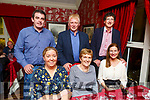 Enjoying the night out in Cassidys on Saturday night.<br /> Seated l-r, Maura Murphy, Geraldine Collins and Mary O&rsquo;Connor.<br /> Back l-r, Padraig Murphy, Billy O&rsquo;Connor and Gerard Collins.