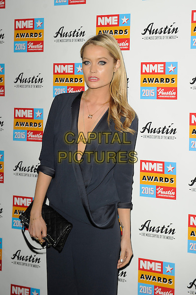 LONDON, ENGLAND - FEBRUARY 18: Laura Whitmore attending the NME Awards at Brixton Academy on February 18 2015 in London, England.<br /> CAP/MAR<br /> &copy; Martin Harris/Capital Pictures