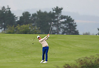 Haydn Porteous (RSA) on the 9th fairway during Round 2 of the D+D Real Czech Masters at the Albatross Golf Resort, Prague, Czech Rep. 02/09/2017<br /> Picture: Golffile | Thos Caffrey<br /> <br /> <br /> All photo usage must carry mandatory copyright credit     (&copy; Golffile | Thos Caffrey)