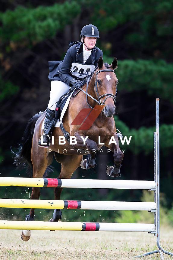 NZL-Rachel Walsh (LACROSSE) 2015 NZL-Hunua Pony Club ODE (Saturday 31 January) CREDIT: Libby Law COPYRIGHT: LIBBY LAW PHOTOGRAPHY