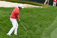 Justin Rose (GBR) chips on to 8 during round 1 of the 2019 US Open, Pebble Beach Golf Links, Monterrey, California, USA. 6/13/2019.<br /> Picture: Golffile | Ken Murray<br /> <br /> All photo usage must carry mandatory copyright credit (© Golffile | Ken Murray)