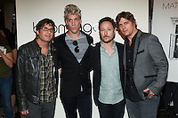 NEW YORK, NY - SEPTEMBER 6: Matchbox Twenty  attend Fashion's Night Out at Bloomingdale's  in New York City, NY. September 6, 2012. © Diego Corredor/MediaPunch Inc.