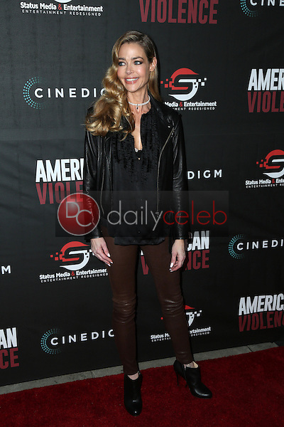 "Denise Richards<br /> at the ""American Violence"" World Premiere, Egyptian Theater, Hollywood, CA 01-25-17<br /> David Edwards/DailyCeleb.com 818-249-4998"