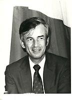 Jean Campeau<br /> photo d' archive circa 1980 ( date exacte inconnue)<br /> <br /> PHOTO : Agence Quebec Presse