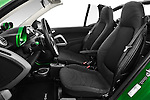 Front seat view of 2016 Smart fortwo electric 2 Door Convertible Front Seat  car photos