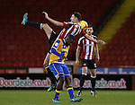 Chris Basham of Sheffield Utd during the English League One match at the Bramall Lane Stadium, Sheffield. Picture date: November 19th, 2016. Pic Simon Bellis/Sportimage