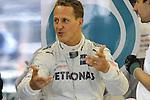 05.-08.07.2011, Silverstone Circuit, Silverstone, GBR, F1, Gro&szlig;er Preis von Gro&szlig;britannien, Silverstone, im Bild Michael Schumacher (GER), Mercedes GP <br />  Foto &copy; nph / Mathis