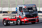 Hungarian driver Norbert Kiss belonging German team Tankpool 24 Racing during the super pole SP1 of the XXX Spain GP Camion of the FIA European Truck Racing Championship 2016 in Madrid. October 01, 2016. (ALTERPHOTOS/Rodrigo Jimenez)