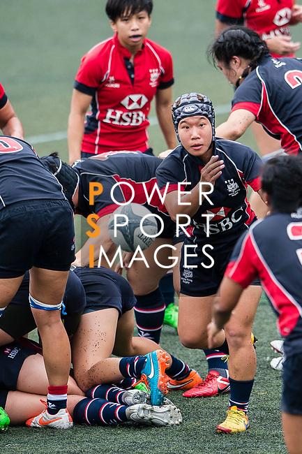 Man Hoo Yee of Dragons (C) in action during the Women's National Super Series 2017 on 13 May 2017, in Hong Kong Football Club, Hong Kong, China. Photo by Marcio Rodrigo Machado / Power Sport Images