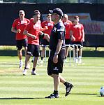 29.06.2019, Wuhlheide, Berlin, GER, 1.FBL, 1.FC UNION BERLIN TRAINING, im Bild <br /> Cheftrainer (Head Coach) Urs Fischer(1.FC Union Berlin)<br /> <br />      <br /> Foto © nordphoto / Engler