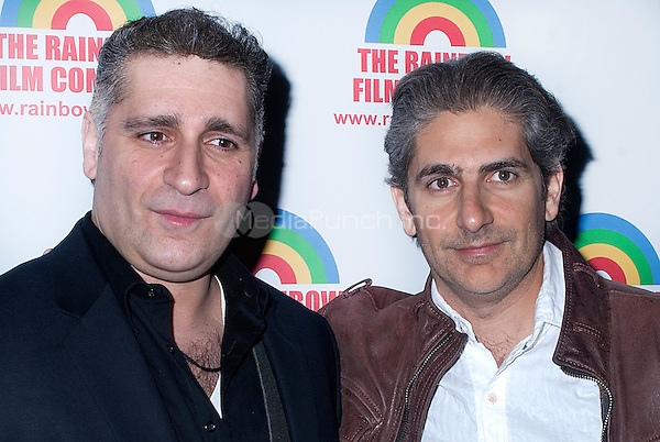 NEW YORK, NEW YORK - APRIL 12, 2014: Actor Michael Imperioli, right, and John Imperioli attend the Premiere of 'The M Word' by Henry Jaglom in New York, New York on Monday April 21, 2014. Photo credit: RTNHargrove/MediaPunch