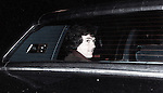 Patrick Duffy in his Car / Limo in New York City..1983.