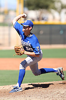 Charles Byrne - Kansas City Royals - 2010 Instructional League.Photo by:  Bill Mitchell/Four Seam Images..