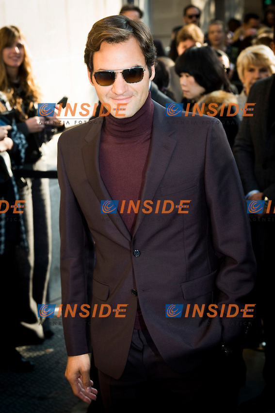 Roger Federer Chanel s fashion show arrivals - Paris - 04/10/2016 <br /> Foto Panoramic / Insidefoto