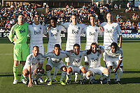 Vancouver Whitecaps Starting Eleven. The San Jose Earthquakes tied the Vancouver Whitecaps 2-2 at Buck Shaw Stadium in Santa Clara, California on July 20th, 2011.