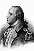 Benedict Arnold.  Copy of engraving by H.B. Hall after John Trumbull, published 1879.  (George Washington Bicentennial Commission)<br /> Exact Date Shot Unknown<br /> NARA FILE #:  148-GW-617<br /> WAR & CONFLICT BOOK #:  62