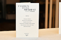 1st Annual Fashion Week Shabbat