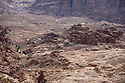 A PIECE OF JORDAN - TRAVEL FEATURE. THE ANCIENT NABATEAN SITE OF LITTLE PETRA. PHOTO BY CLARE KENDALL. 07971 477316.