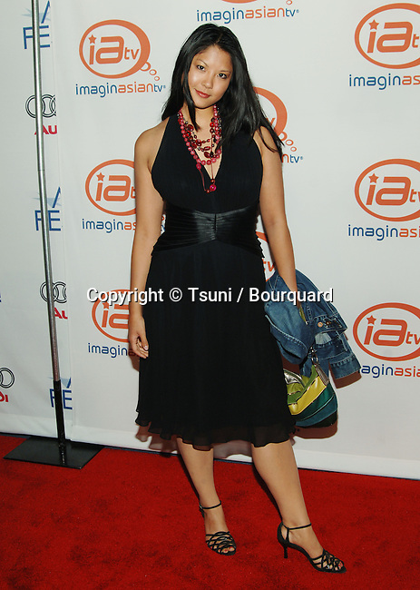 Lynn Chen at ImaginAsianTV at the AFI Fest at the Cinerama Dome Theatre in Los Angeles. November 6, 2005