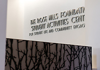 Photo of the Rose Hills Foundation Student Activities Center in the Johnson Student Center, Aug. 2, 2013.<br /> (Photo by Marc Campos, Occidental College Photographer)