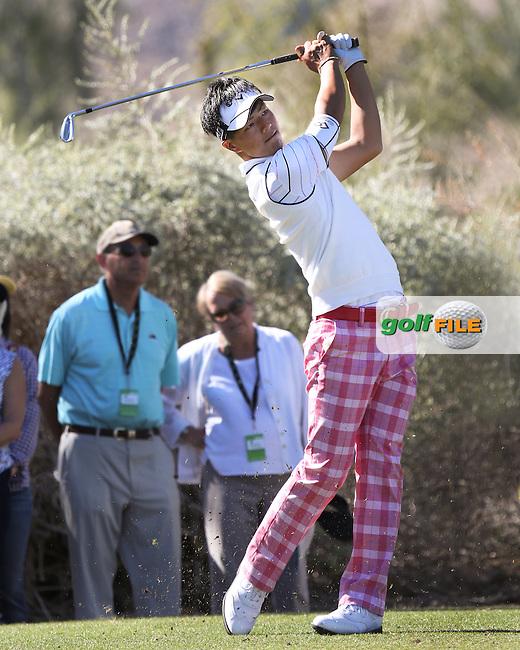 19 JAN 13  Japanese Boy Wonder Ryo Ishikawa during Saturday's Third Round at The Humana Challenge at PGA WEST in La Quinta, California. (photo:  kenneth e.dennis / kendennisphoto.com)