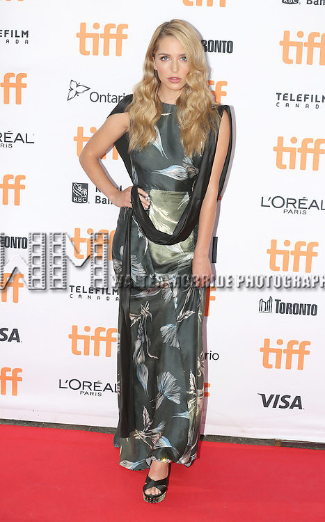 Jessica Rothe attends the 'La La Land' Premiere during the 2016 Toronto International Film Festival at Princess of Wales Theatre on September 12, 2016 in Toronto, Canada.