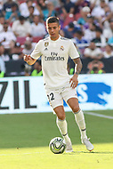 Landover, MD - August 4, 2018: Real Madrid midfielder Oscar (32) in action during the match between Juventus and Real Madrid at FedEx Field in Landover, MD.   (Photo by Elliott Brown/Media Images International)