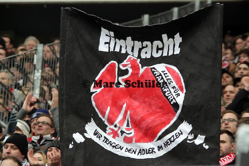 Banner der Eintracht Fans