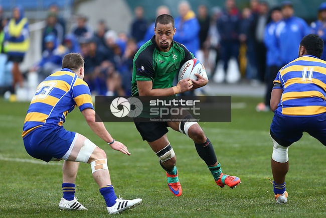 NELSON, NEW ZEALAND - JULY 23: Division 1 Final Marist V Wanderers Trafalgar Park on July  23 2016 in Nelson, New Zealand. (Photo by: Evan Barnes Shuttersport Limited)