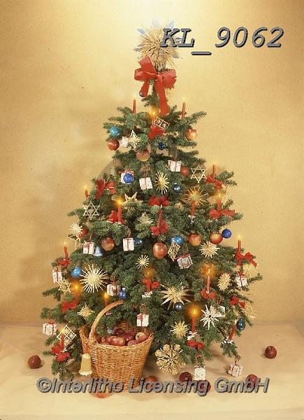 Interlitho-Helga, CHRISTMAS SYMBOLS, WEIHNACHTEN SYMBOLE, NAVIDAD SÍMBOLOS, photos+++++,tree, red,KL9062,#xx#