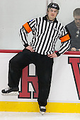 C.J. Hanafin - The Harvard University Crimson defeated the visiting Princeton University Tigers 5-0 on Harvard's senior night on Saturday, February 28, 2015, at Bright-Landry Hockey Center in Boston, Massachusetts.