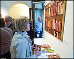 """La Fondazione Bottari Lattes inaugura la mostra """"Pittoriscrittori"""" nel nuovo """"Spazio Don Chisciotte"""" di Caterina Bottari Lattes, in via della Rocca a Torino. Aprile 2013"""