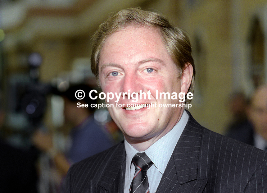 John Sykes, MP, Conservative Party, UK, October, 1993, 1993100467<br />